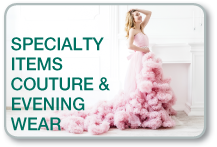 Specialty dry cleaning services